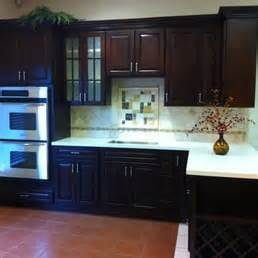 Kitchen Cabinet Hardware San Jose by Villa Cherry Cabinets With Eggshell Quartz Yelp