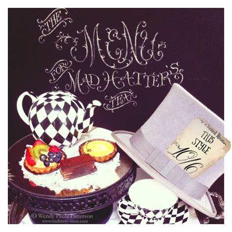 Mad Hatter Decorations by Mad Hatter S Tea Party Mulberry Muse