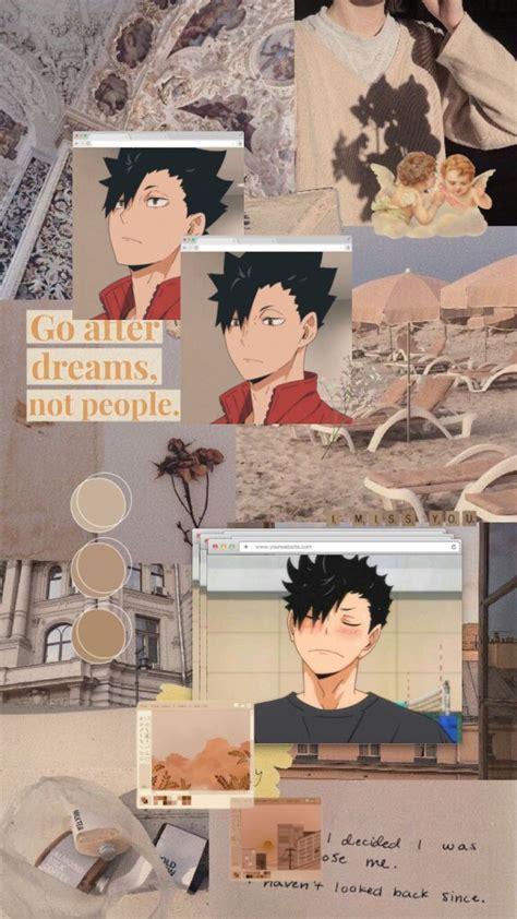 kuroo tetsurou aesthetic wallpaper in 2020 anime