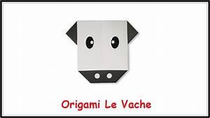 Origami Animaux Facile Gratuit : origami facile animaux origami le vache youtube ~ Dode.kayakingforconservation.com Idées de Décoration