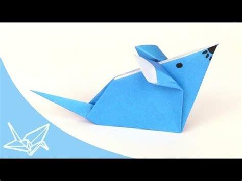 tiere aus papier falten origami maus falten einfache origami tiere aus papier basteln mit kindern basteln