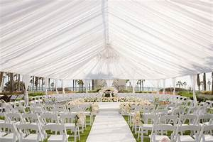 ceremony decor photos tent wedding ceremony in the round With wedding ceremony rental items