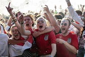 England fans cry and drown their sorrows after World Cup ...