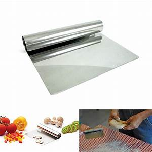 "6"" Stainless Steel Chopper Dough Scraper Cutter Pastry ..."