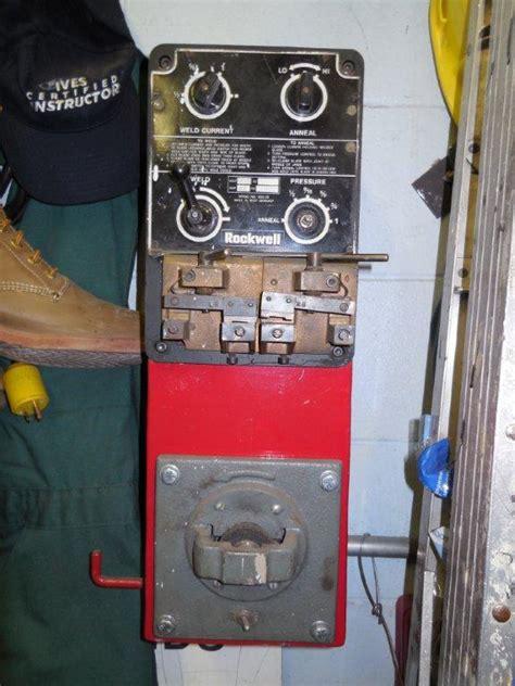 rockwell blade welder information needed