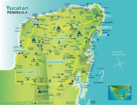 google map mexico yucatan
