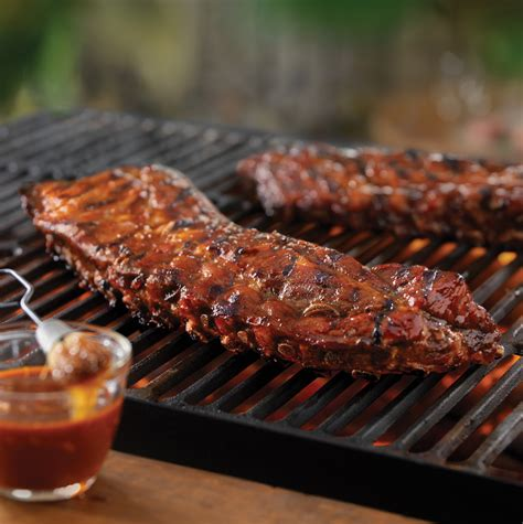 cooking ribs on grill tangy grilled back ribs pork recipes pork be inspired