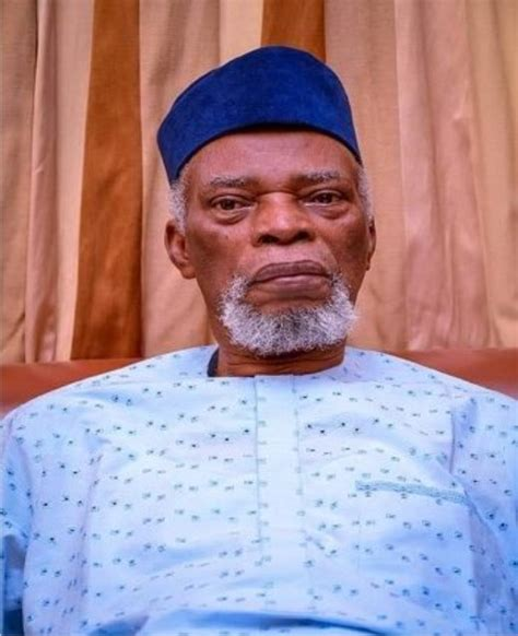 Breaking Former Governor Of Ondo State Is Dead
