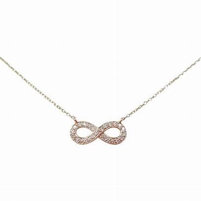 Infinity Necklace Diamond Gold 14k Ruby Arnoldjewelers