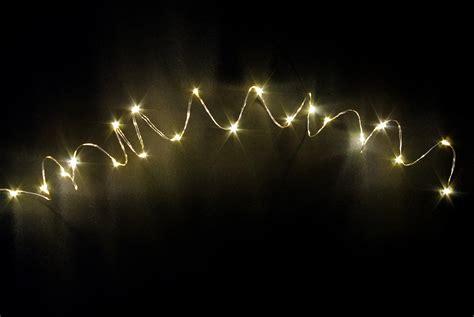 Lichterketten Led Innen by Led Lichterkette 10er Micro Silberdraht Timer