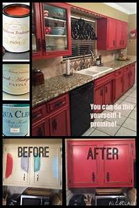 best 25 red kitchen cabinets ideas on pinterest red With what kind of paint to use on kitchen cabinets for colonial candle holder