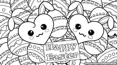 Color Pages Easter by Easter Coloring Pages For Adults Coloring Home