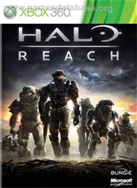 Halo Reach Microsoft Xbox 360 Games Database