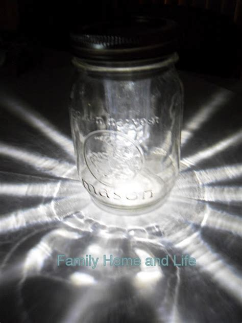hill house homestead jar solar light