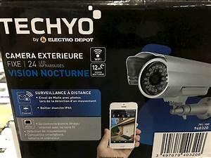 Camera Surveillance Infrarouge Vision Nocturne : outdoor camera ~ Melissatoandfro.com Idées de Décoration