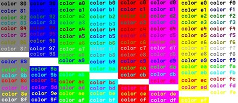 Color  Foreground And Background Colours  Windows Cmd