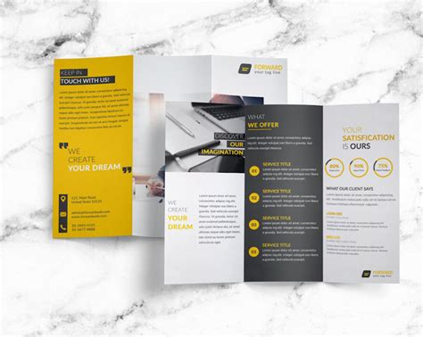 Brochure Templates Exles by 25 Tri Fold Brochure Templates Psd Ai Indd Free
