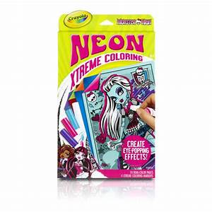 Crayola Neon Xtreme Coloring Kit Monster High