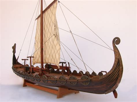 Viking Boats To Make by Wooden Viking Ship Model Plans Plan Make Easy To Build Boat