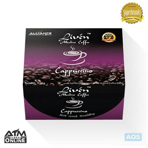 It's really an amazing coffee,get away from stress today. Liven Alkaline Coffee - Cappuccino - Shalini Terado   Empowered Consumerism Global Business