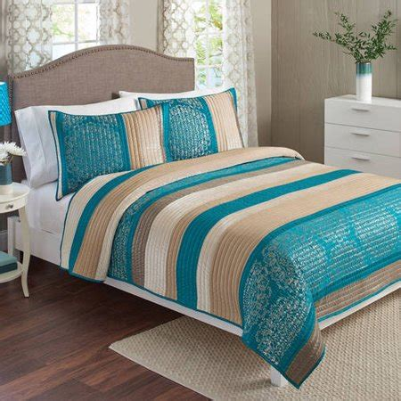 better homes and gardens quilt sets better homes and gardens bedding quilt set walmart