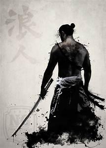 Ronin Artprint by Nicklas Gustafsson #samurai #ronin # ...