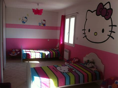 chambre hello pas cher papier peint chambre fille hello 170043 gt gt emihem