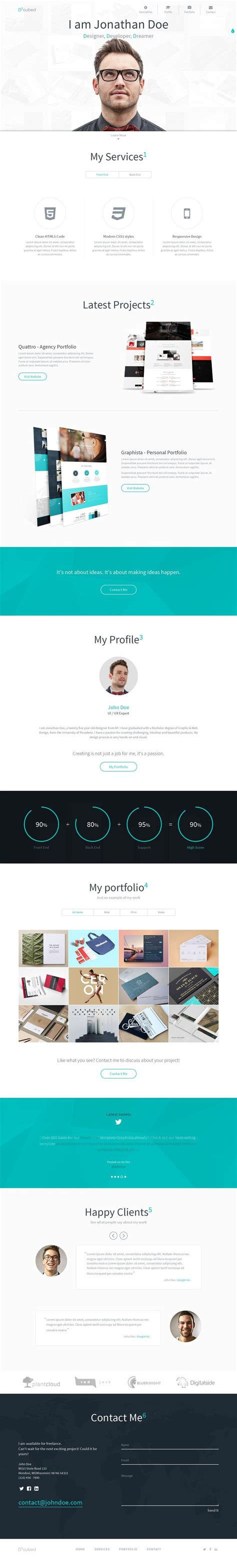 best 25 personal portfolio ideas on personal