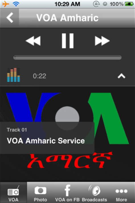 Voa News Programs by Voa News Amharic Radio Program