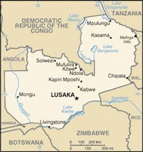 List of cities and towns in Zambia - Wikipedia