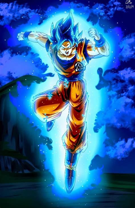 goku super saiyan blue dragon ball super