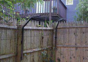 stop dog jumping fence