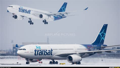 c gkts air transat airbus a330 300 at montreal elliott trudeau intl qc photo id