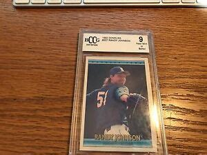 …all end of show orders must be submitted and received by saturday, july 31, at 12 noon cdt. RANDY JOHNSON 1992 DONRUS #207 BASEBALL CARD BCCG GRADED NEAR MINT-MINT+ 9 HOF   eBay