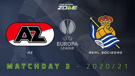 2020-21 UEFA Europa League – AZ Alkmaar vs Real Sociedad ...