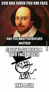 Only Shakespear... Shakespeare Comic Quotes