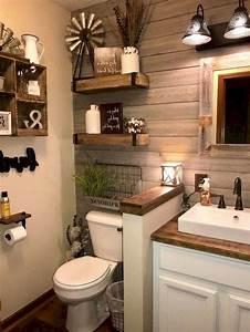 Perfect, Rustic, Farmhouse, Bathroom, Design, Ideas, 45