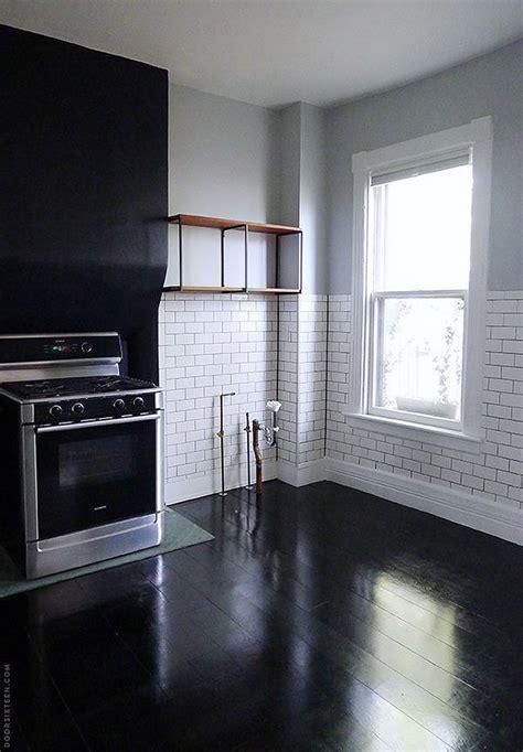 kitchen black floor paint the floors 4 interior design tips my warehouse home 2318