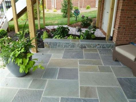 patio tile ideas 1000 images about slate and stone on pinterest