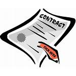 Contract Clipart Signing Clip Cliparts Entrepreneur Library