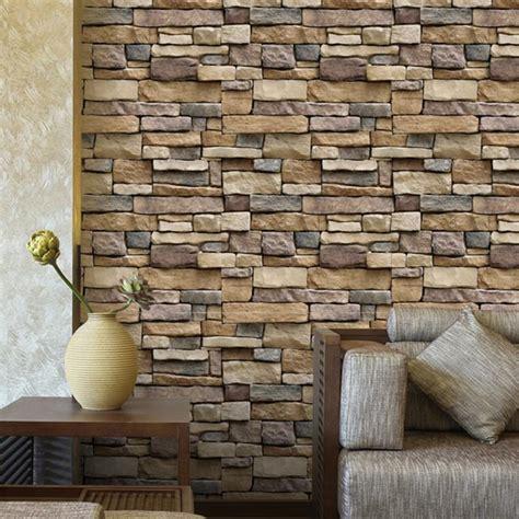 vintage  brick wall paper modern brick stone