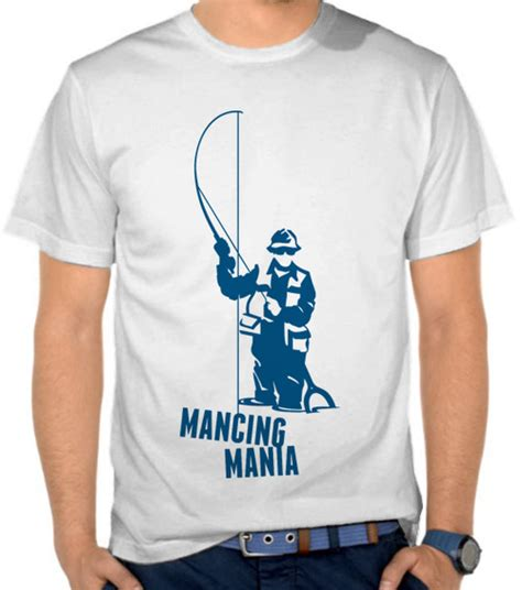 Kaos Oblong Mancing Mania jual kaos mancing mania mancing fishing satubaju