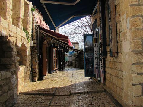 explore  cobblestone streets  tzfats artists quarter