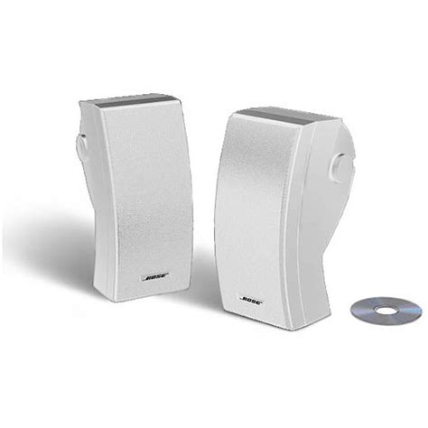 bose 251 outdoor environmental speakers white 24644 b h