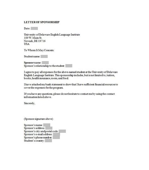 sle letter for sponsorship sponsor letter sle letter idea 2018 50709