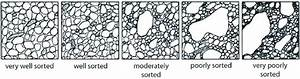Graphical Representation Of Grain Sorting  After Various