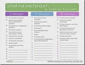 Wohnung Putzen Checkliste : wenig zeit zum putzen kleine zeitfenster nutzen ~ Lizthompson.info Haus und Dekorationen