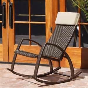 rst brands outdoor barcelona wicker rocker chair reviews