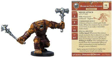 bugbear gang leader  unhallowed dd miniatures