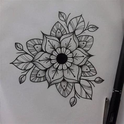 mandala flower tattoos pinterest mandala flower